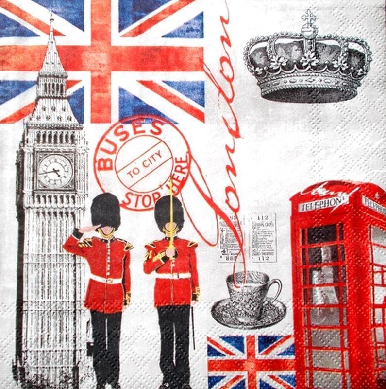 Смешные, открытка с англией