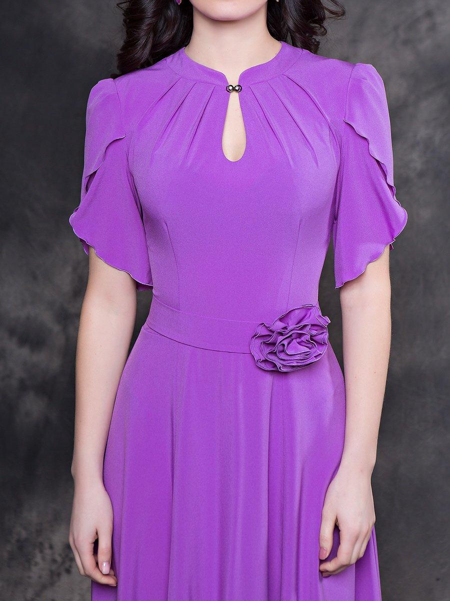 бело фиолетовое платье картинки такой