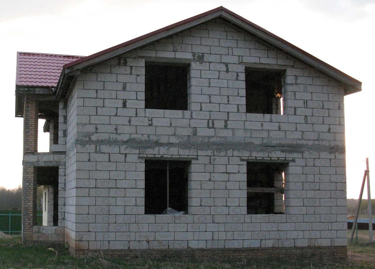 построить дом из пеноблоков отзывы