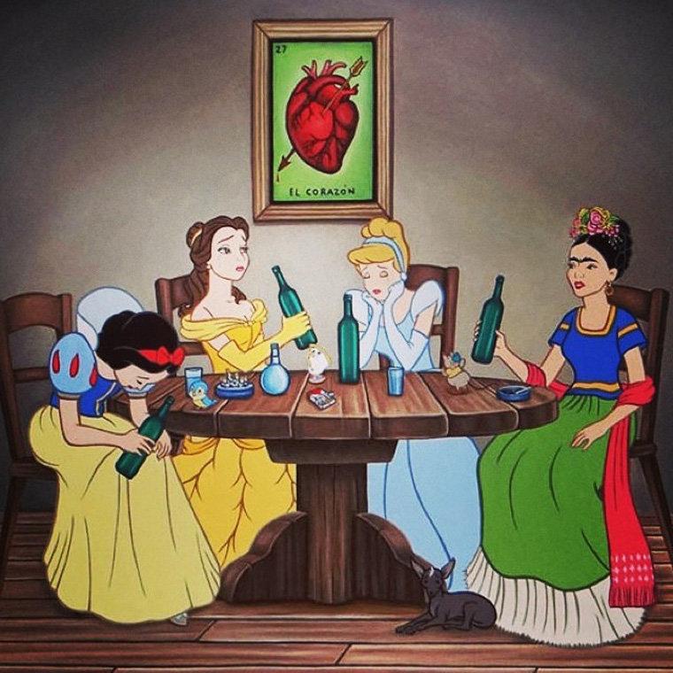 Картинки принцессы диснея приколы новые