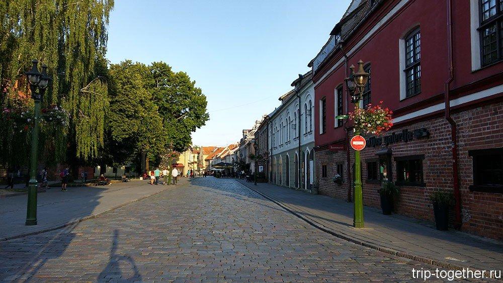 Фото улицы каунаса