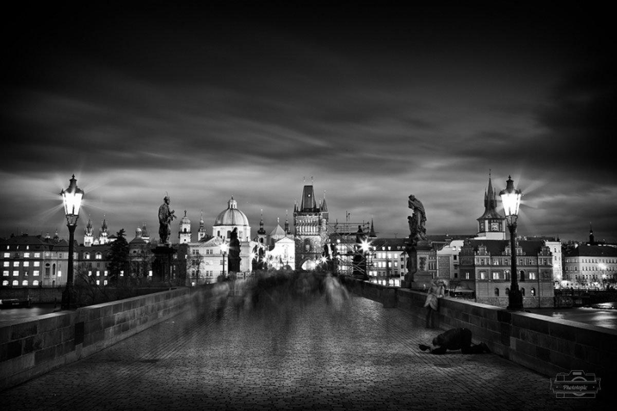 красивые черно-белые фотографии высокого разрешения преимуществом штатива-треноги