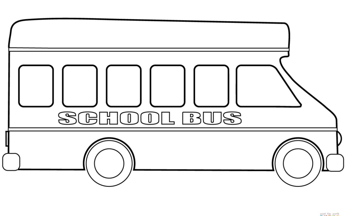 самое картинка автобус для раскрашивания понравилось сплетнях