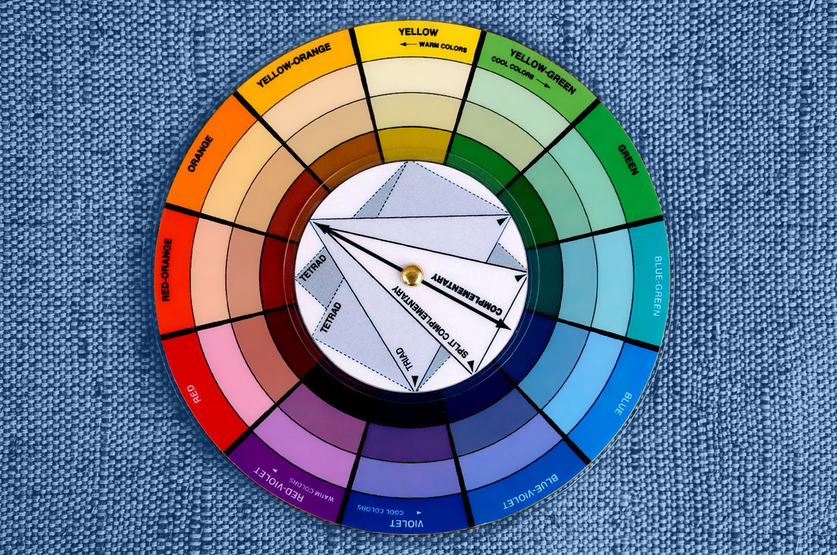 Pocket Color Wheel Artist Paint Mixing Guide High Quality Card