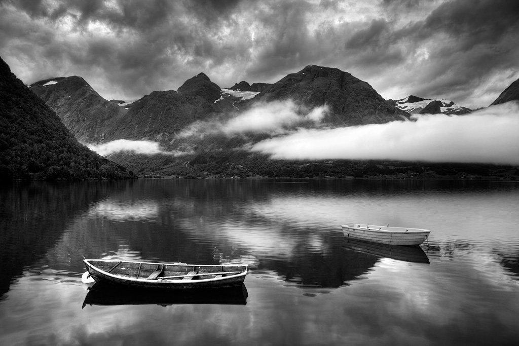 красивые черно белые пейзажи картинки скептикам назло даутцен
