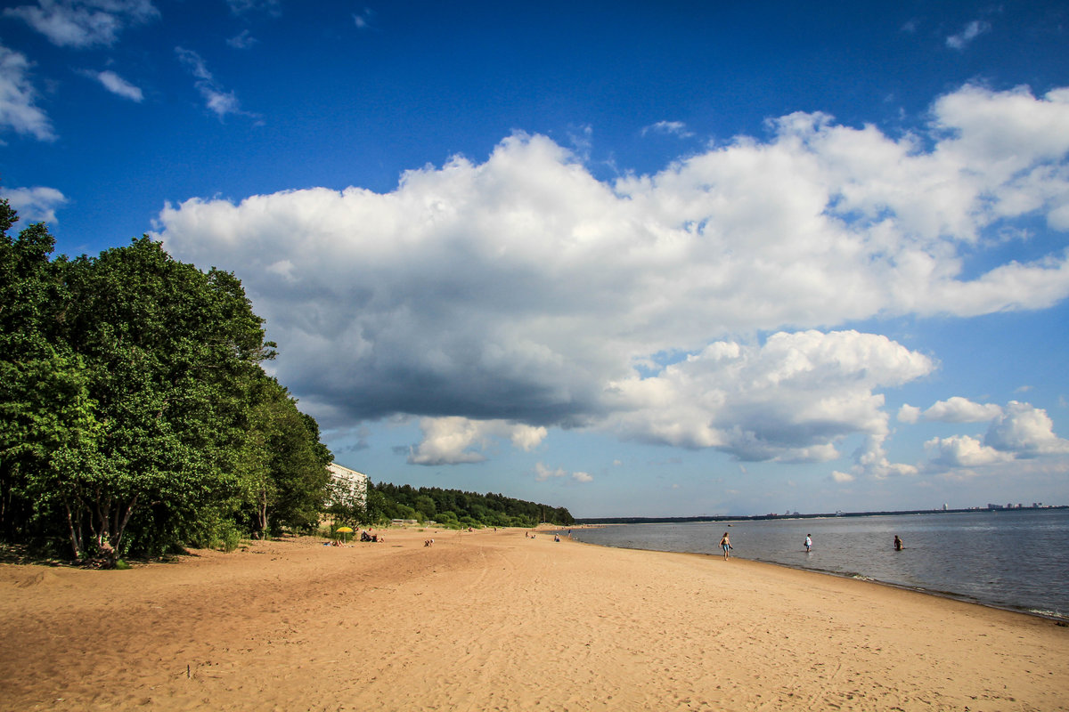 репино фото финского залива