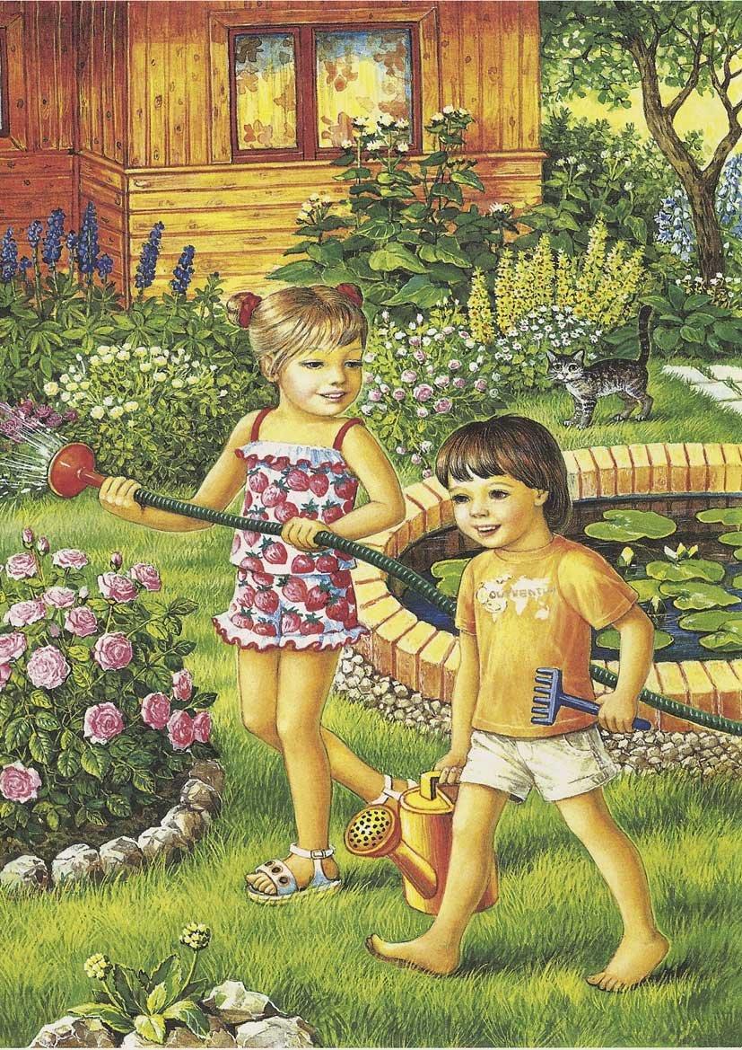 Лето картинки для детей в детском саду, поздравление день учителя