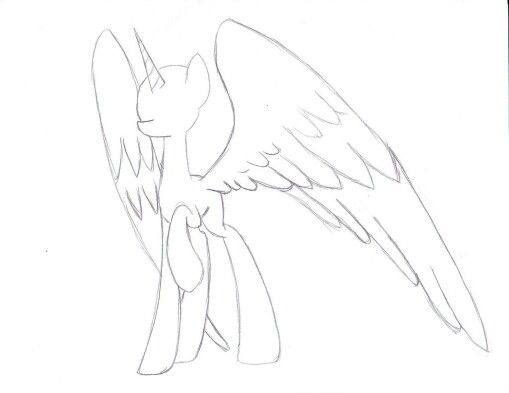 Pony Alicorn Base Gotta Use That For My Oc Soon My Little Pony