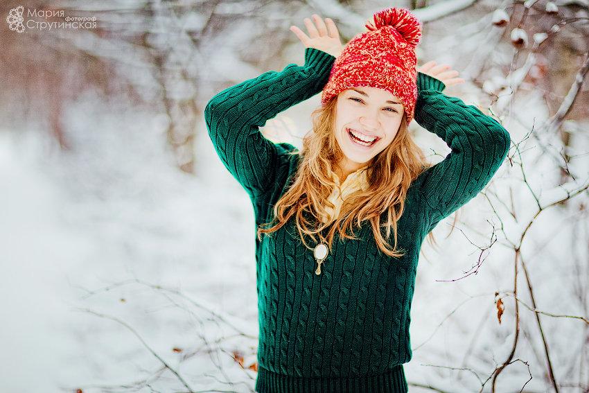 информация как фотографировать людей на улице зимой красиво оставаться