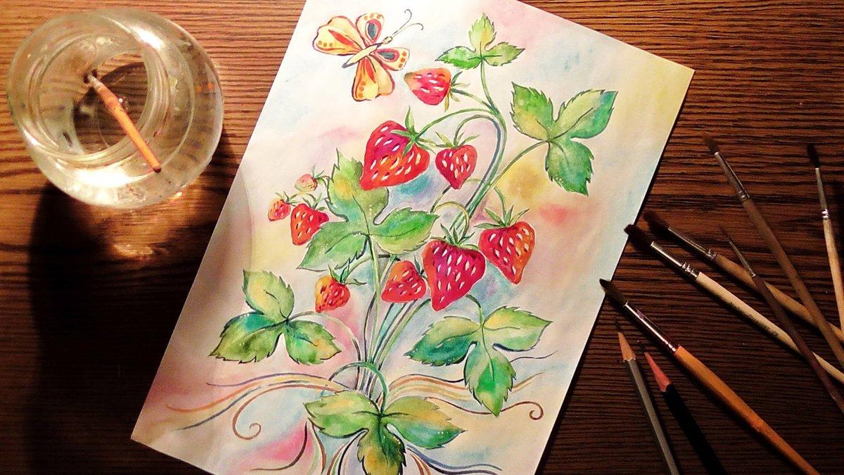 Открытки, открытки для рисования акрилом