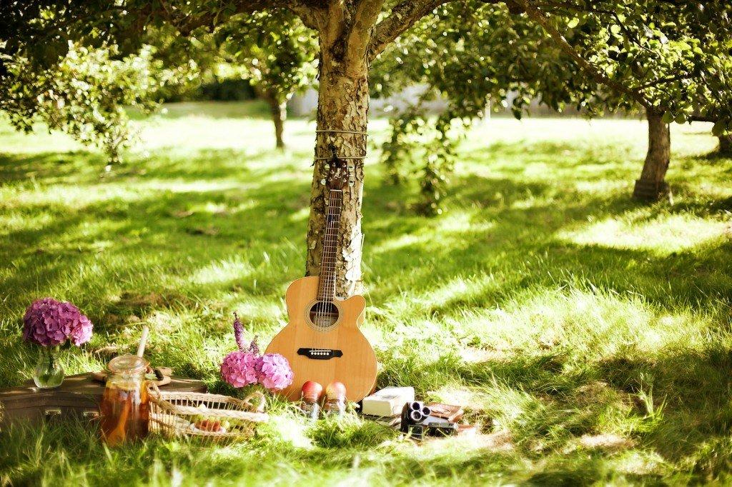 Картинки музыки и лето