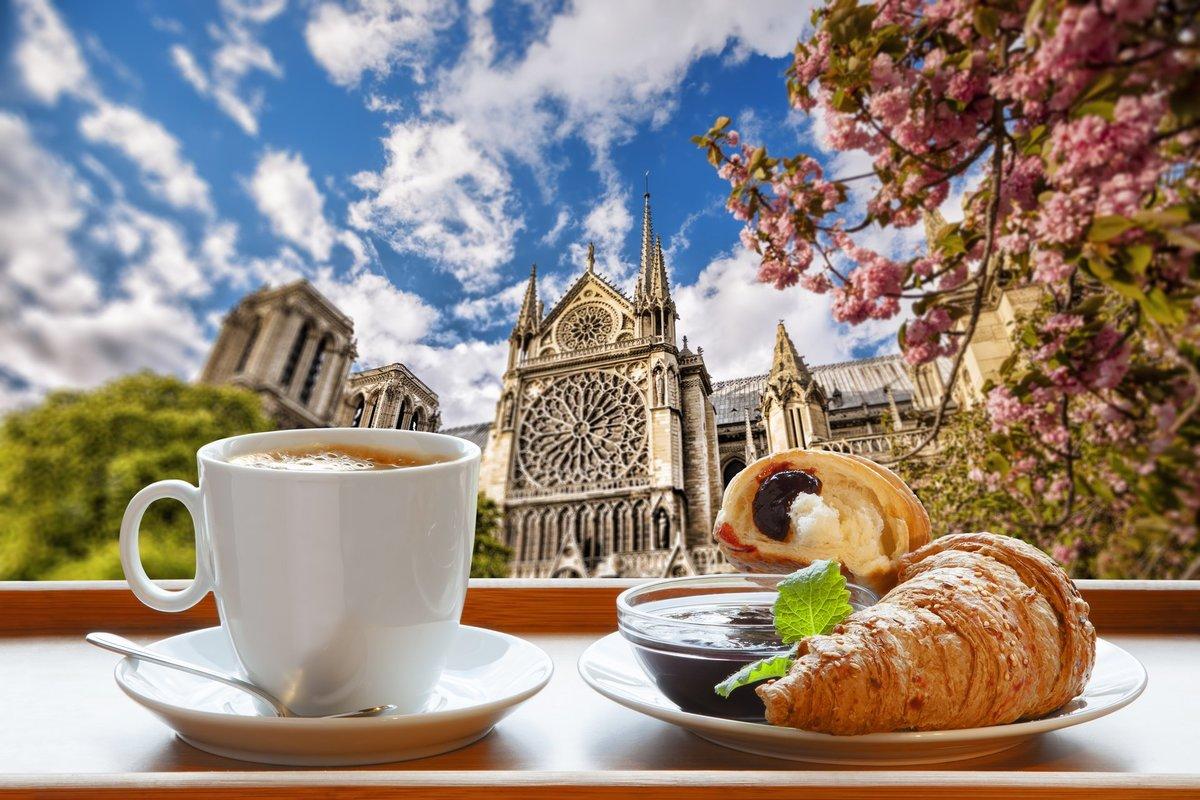 Открытка с добрым утром на французском, спасибо вам