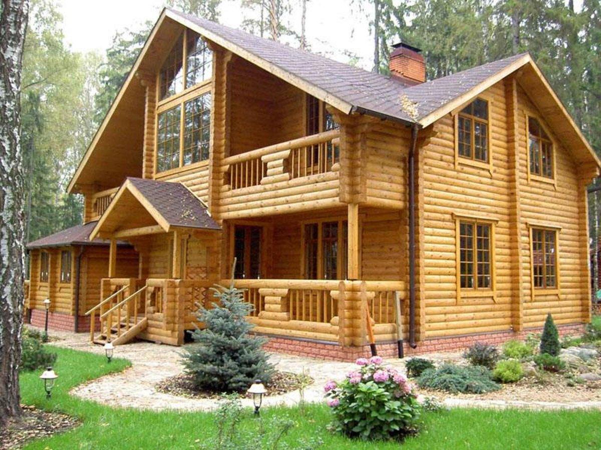 Дом в картинках деревянный