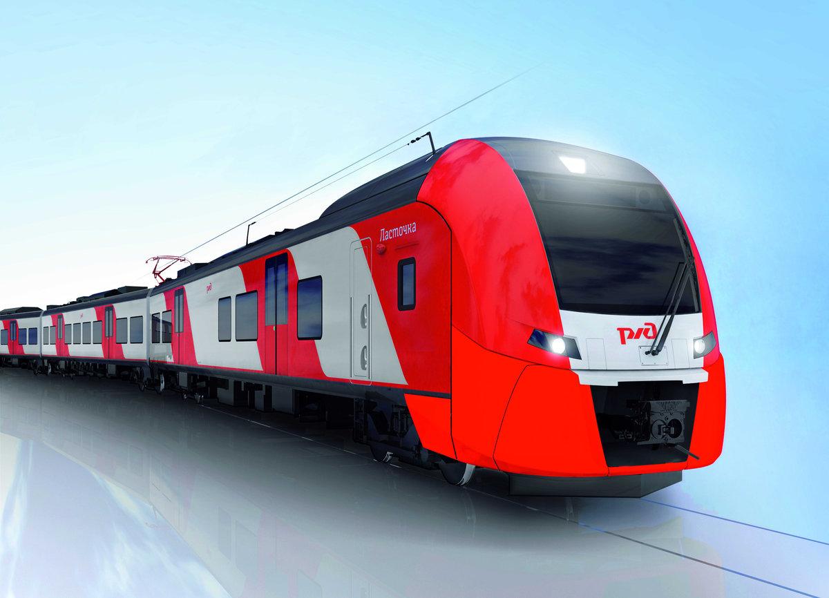 Картинки поезда ржд