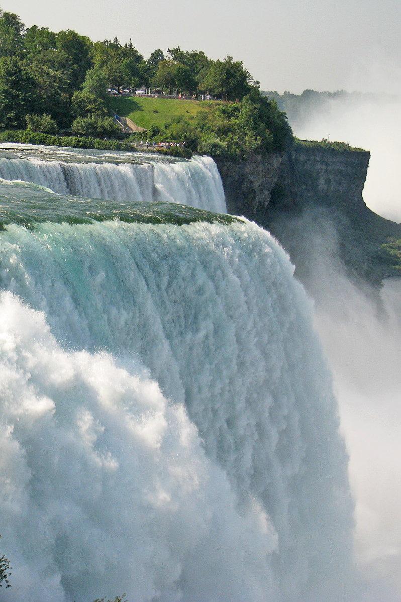 Фата Невесты #водопад #лето #ниагара #сша