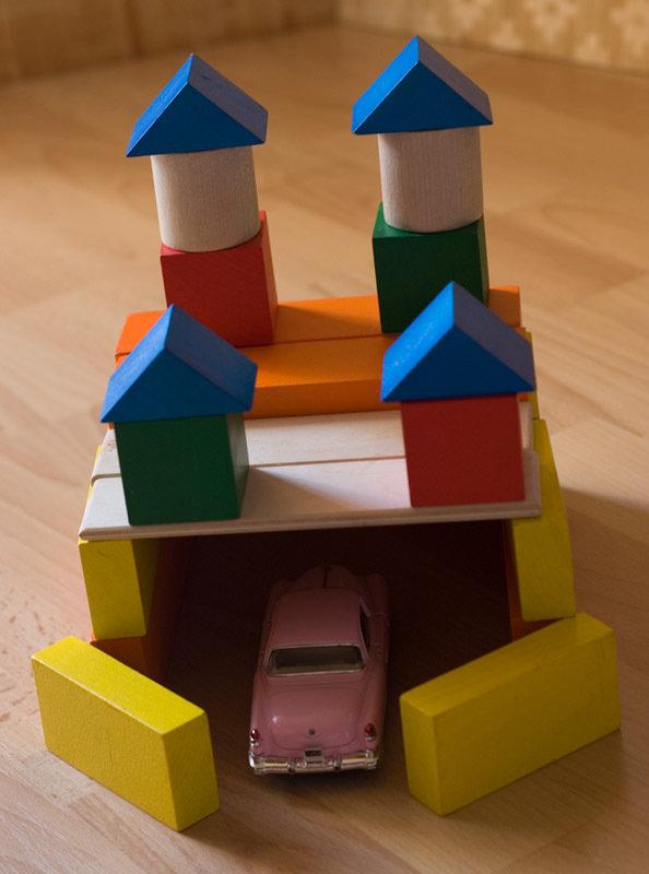 картинки гаража из кубиков идея использовать летящие