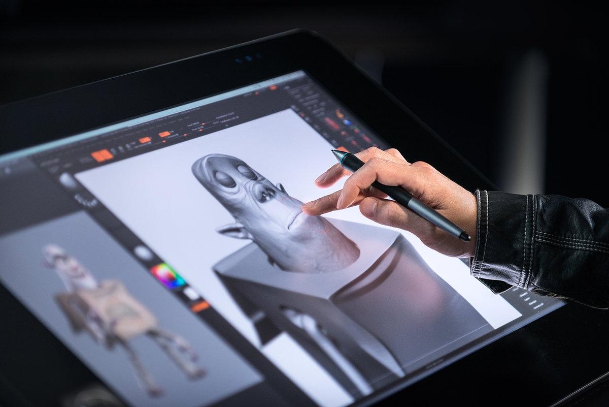 Рисунки на планшете