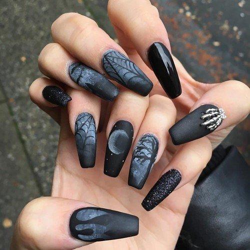 Дизайн нарощенных ногтей фото новинки