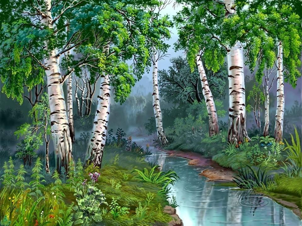 Природа лес картинки для детей, бпан