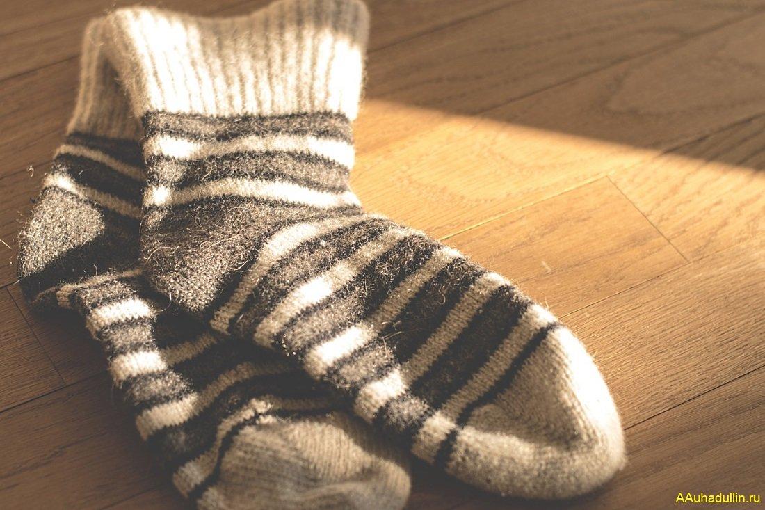 Носки при простуде ОРЗ и гриппе