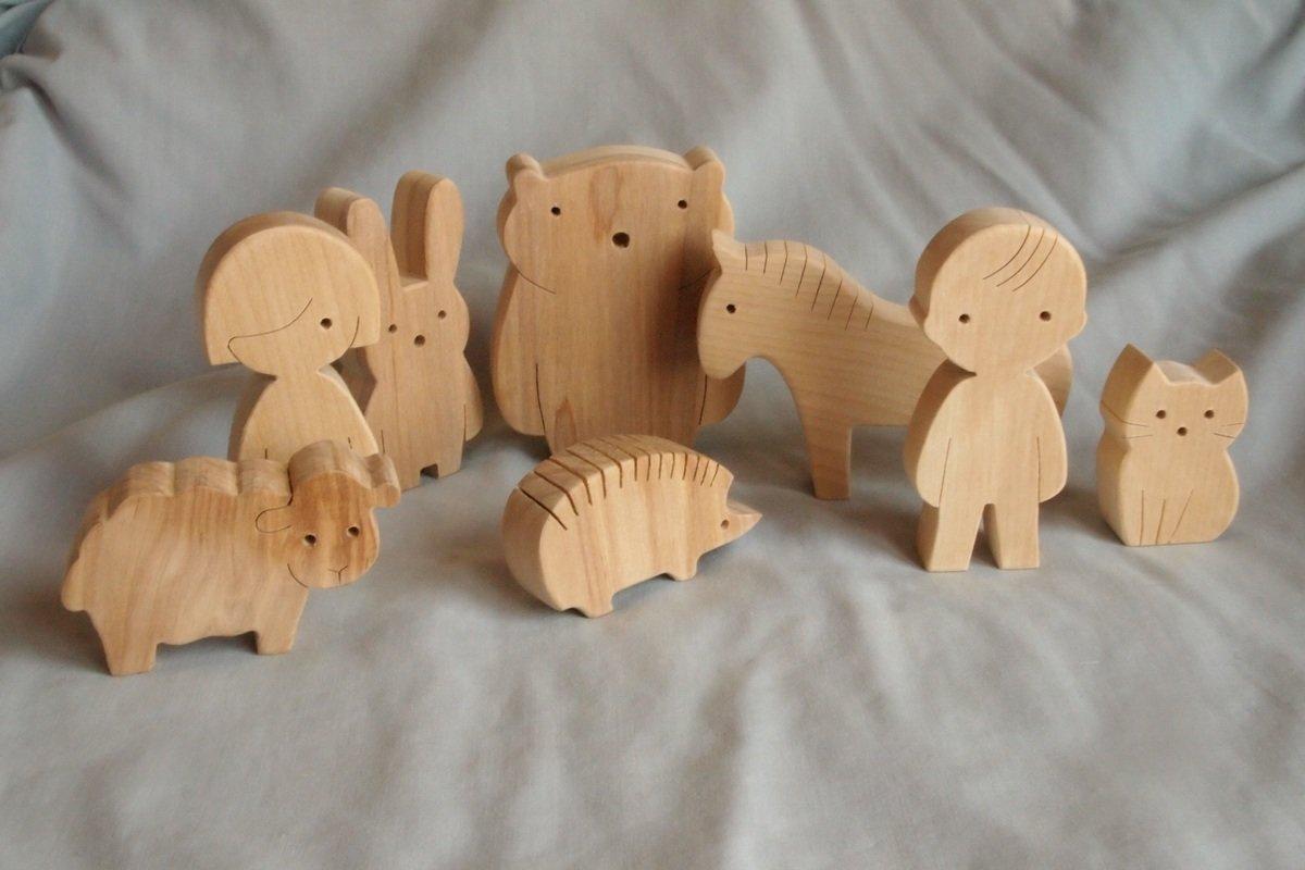 Игрушки из дерева своими руками фото