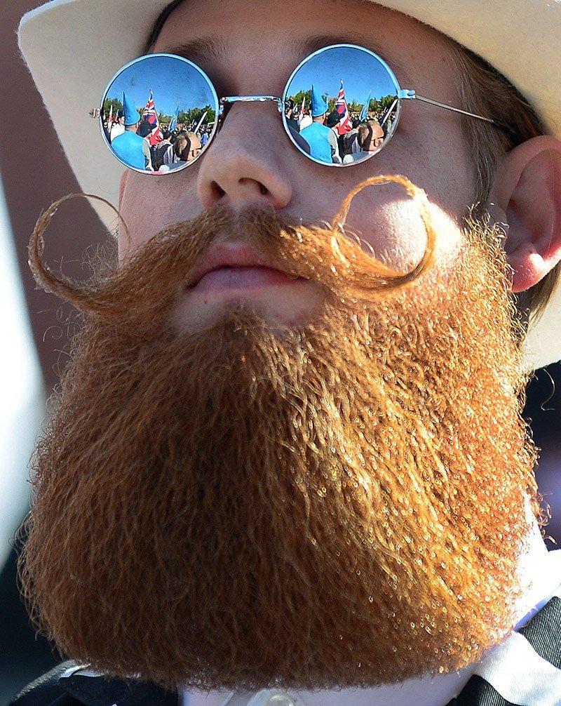 Картинки смешные с бородой, днем