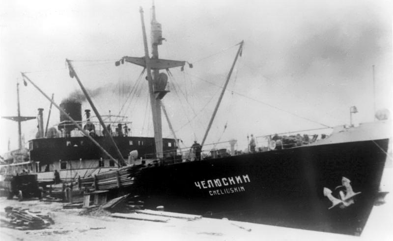 13 апреля 1934 года завершена операция по спасению челюскинцев в Арктике