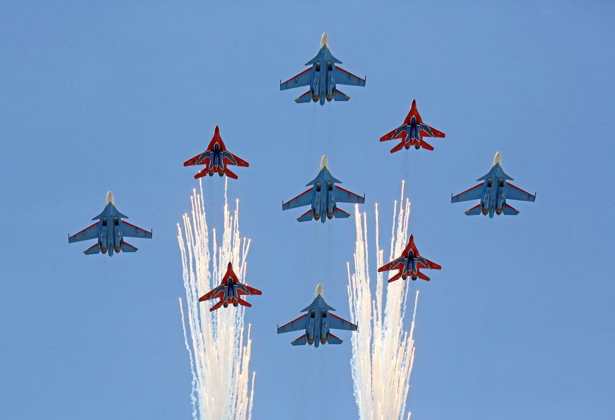русские витязи пилотажная группа картинки оформленная