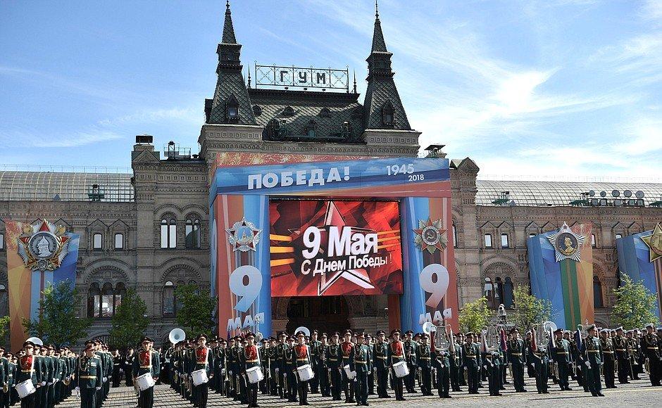 Военный парад на Красной площади.  victory  parade  Russia  rf  ru 4 ... f09a183f019