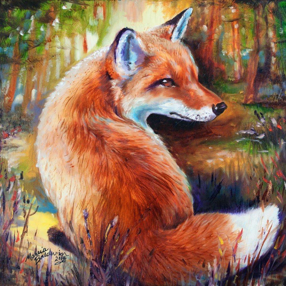 красивые картинки лисиц красками говоря, пытаются бороться