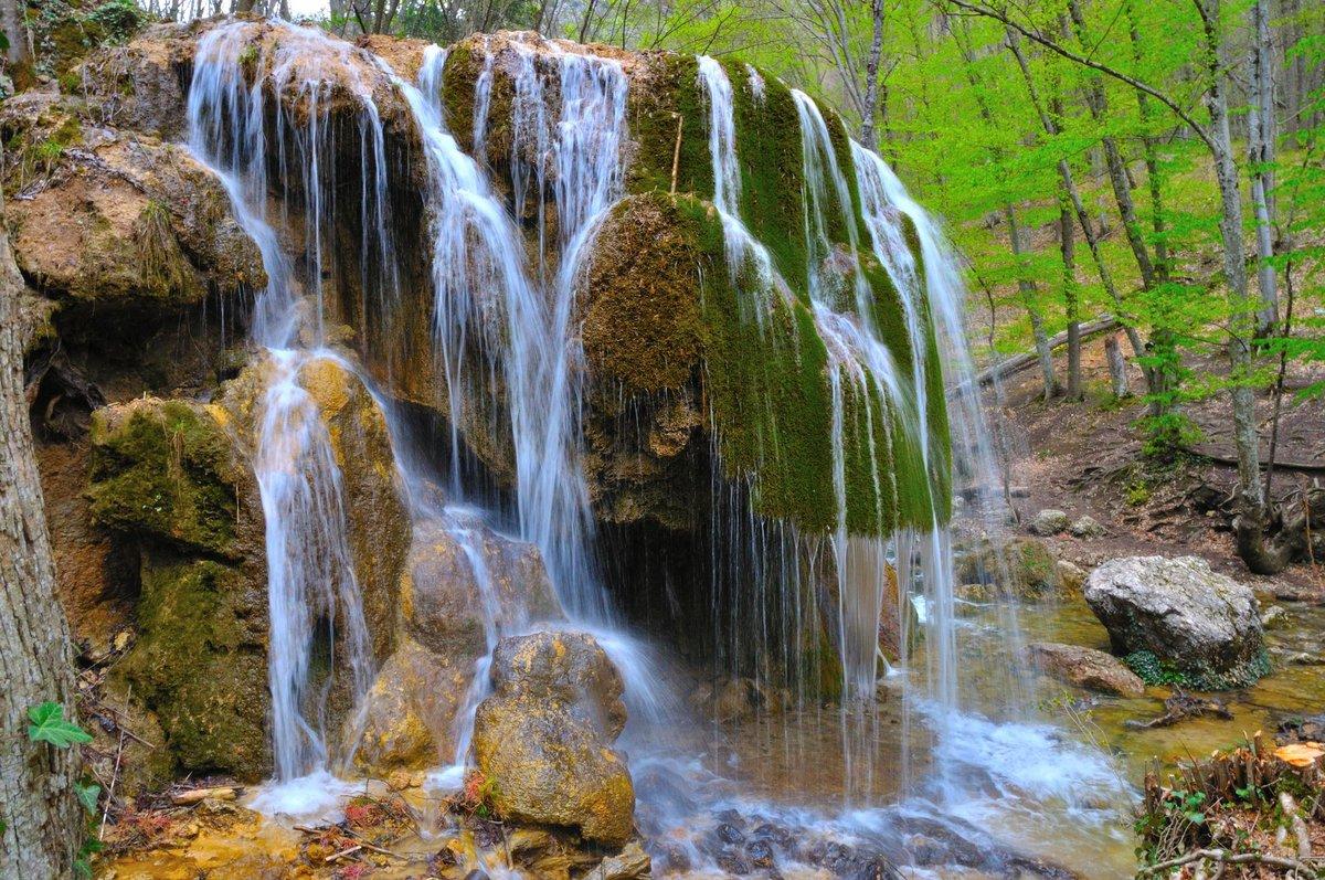 там можно водопад в крыму серебряные струи фото фасада имеет огромное