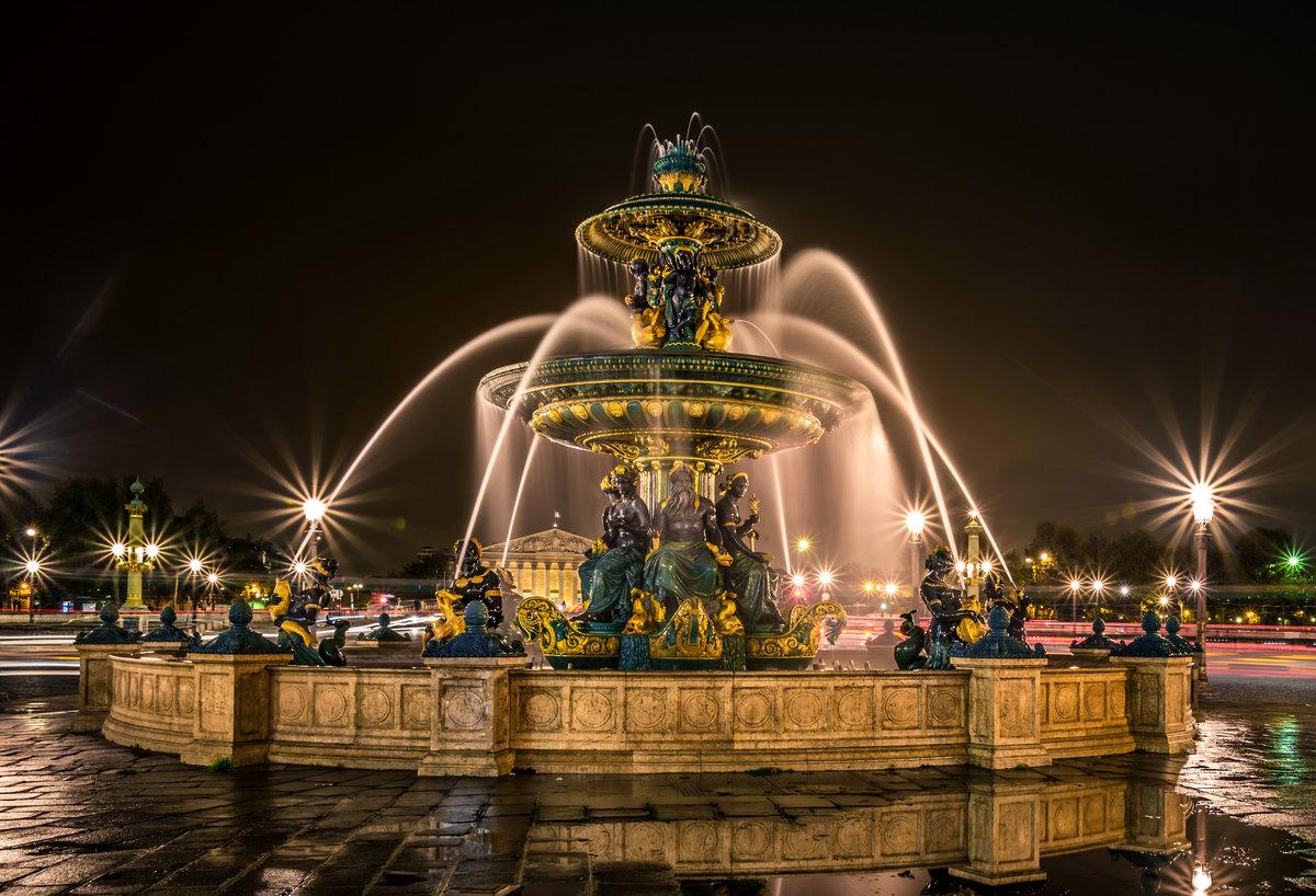 Бабуля, фонтан картинки