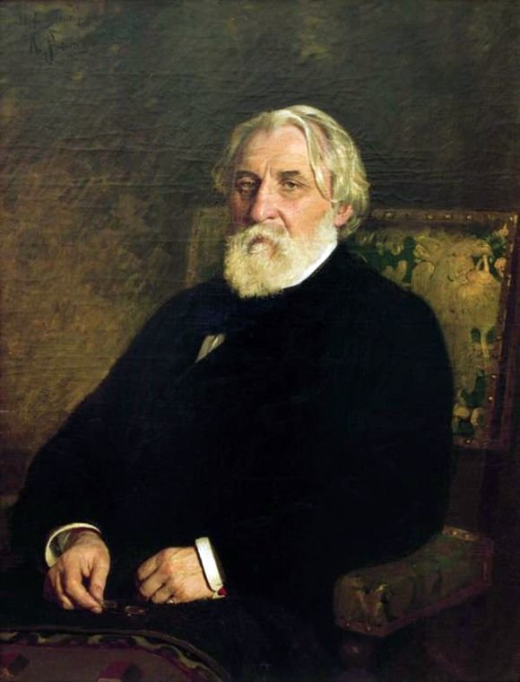 3 апреля 1874 года Илья Репин сообщил Павлу Третьякову, что приступил к работе над портретом Ивана Тургенева