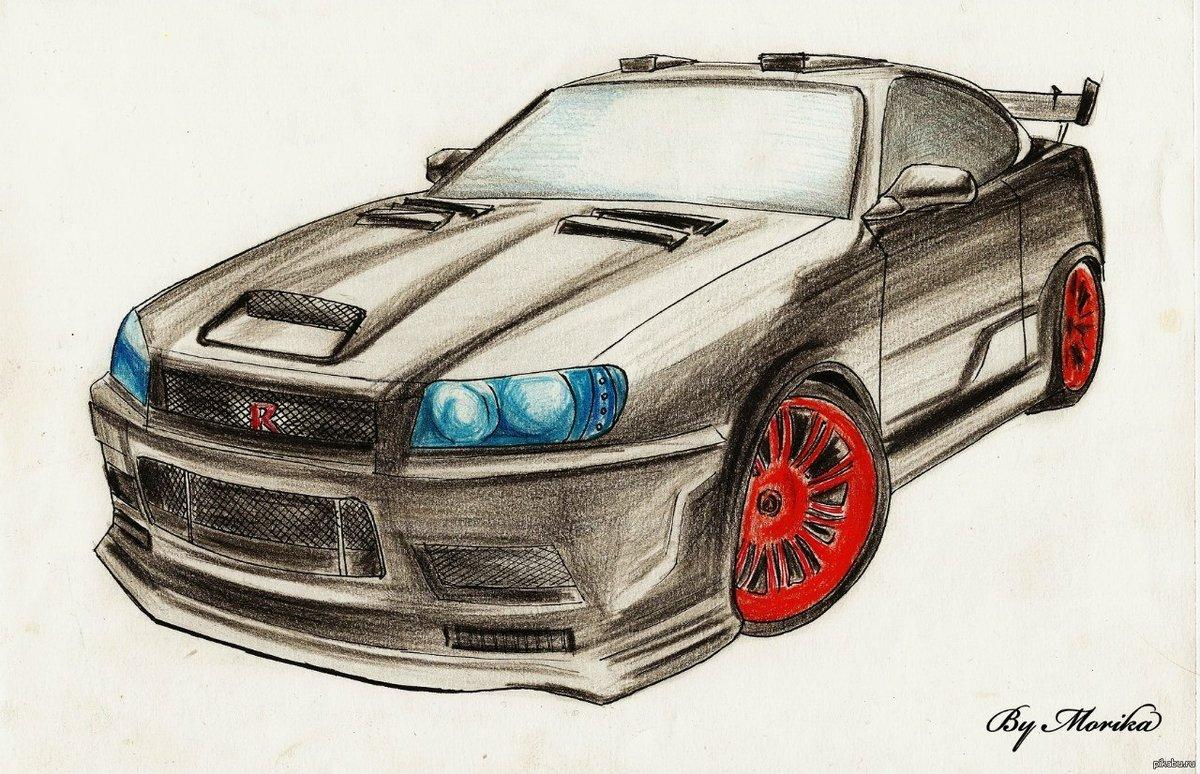 картинки для автомобиля рисунки разрешения