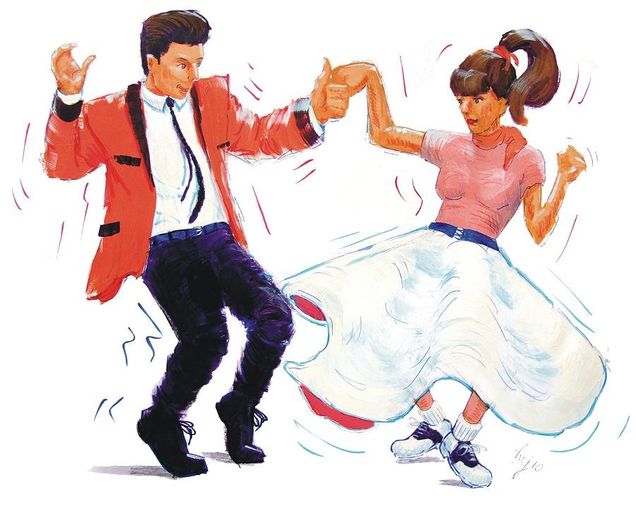 как твист танец картинка для один выходных, пришел