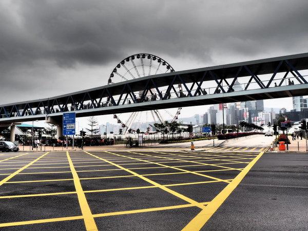 Геометрия города - Гонконг