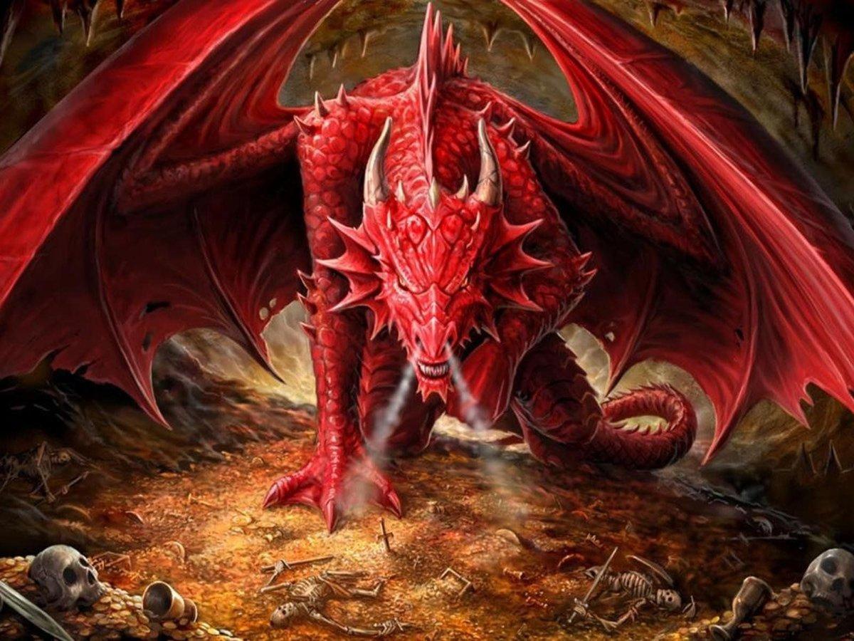Открытки, картинки драконов в хорошем качестве
