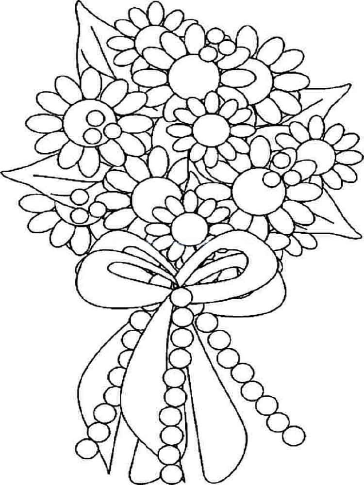 Распечатать открытку с цветами, пожеланиями