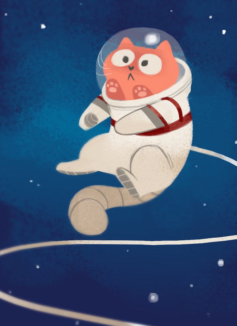 Прикольные рисунки на тему космос, стальной свадьбой