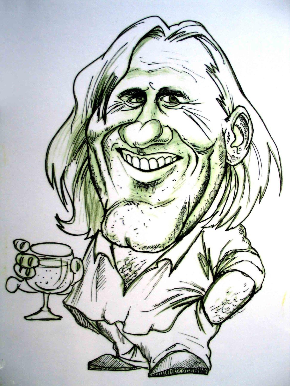 Смешные рисунки знаменитостей карандашом
