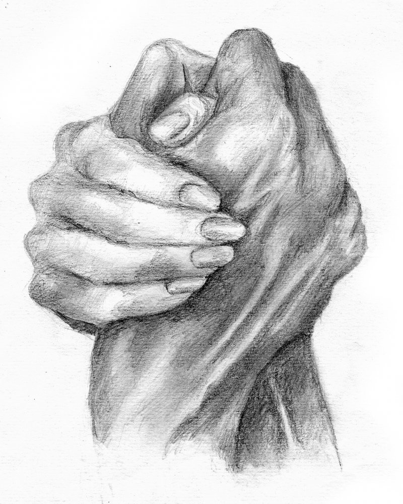 Рука в руке картинки красивые рисунки