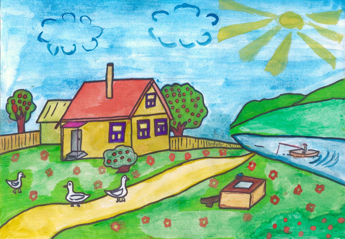 Красивые рисунки картинки для 1 класса