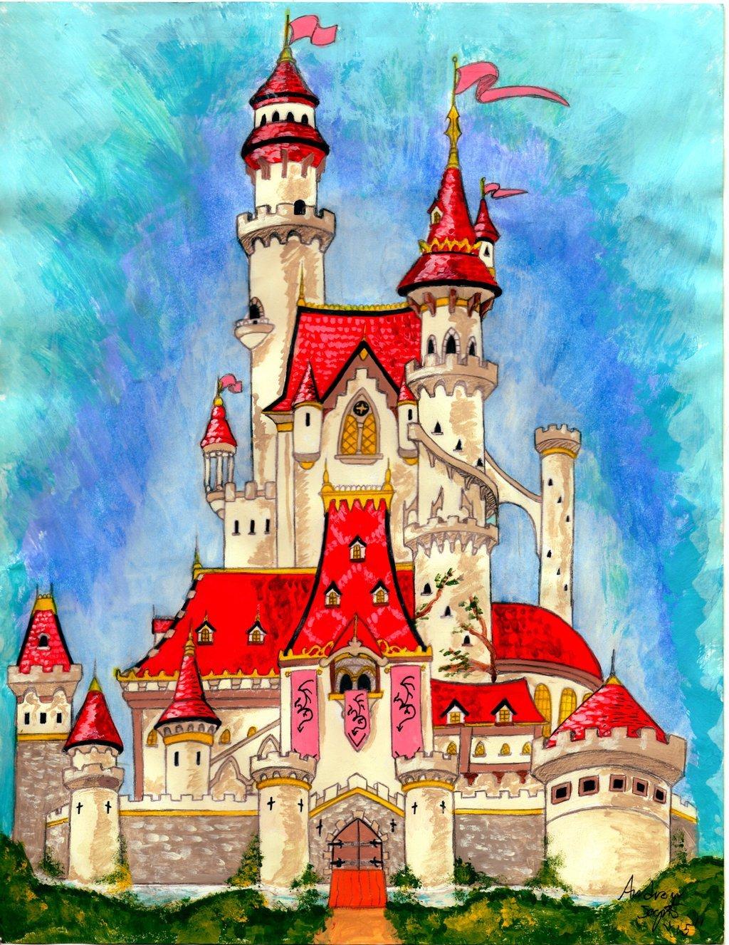 дворец в сказках картинки днем рождения желаю
