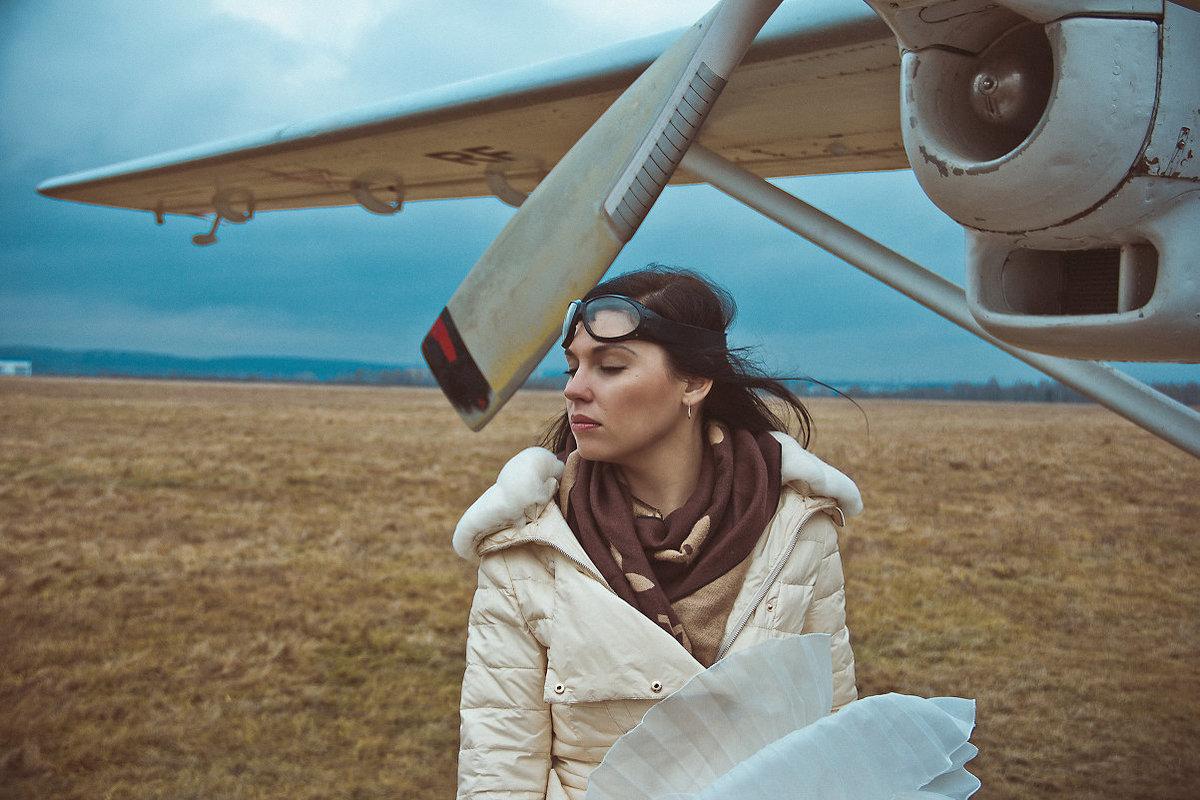 Фото с самолетиком