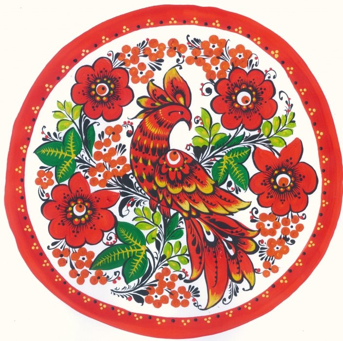 хохлома птицы роспись сталкера