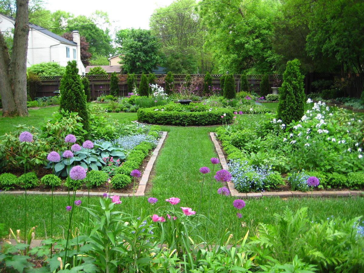 цветы дизайн сада цветами своими руками фото древнему поверью, изображение