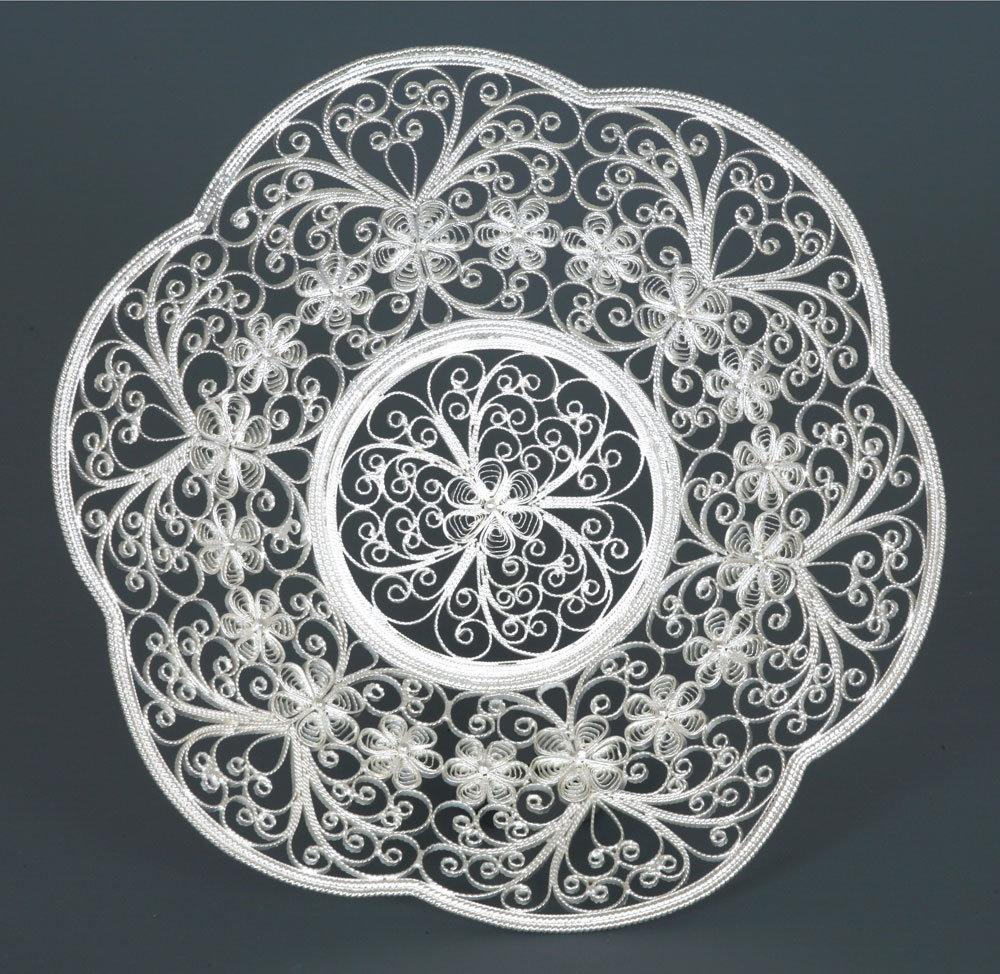 Маленькие, картинки филигрань из серебра