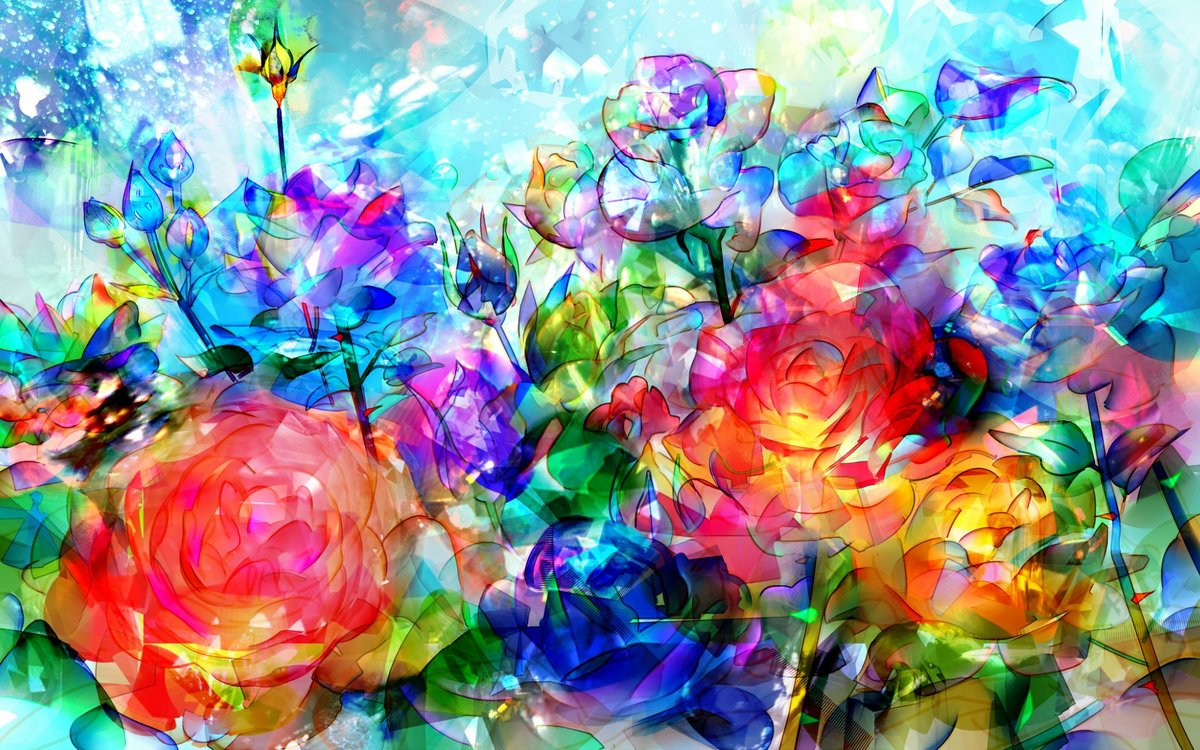 Картинки красочный мир