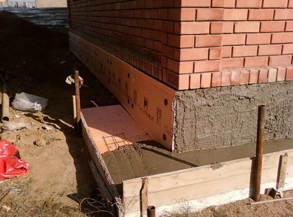 утепление фундамента дома снаружи пеноплексом цена