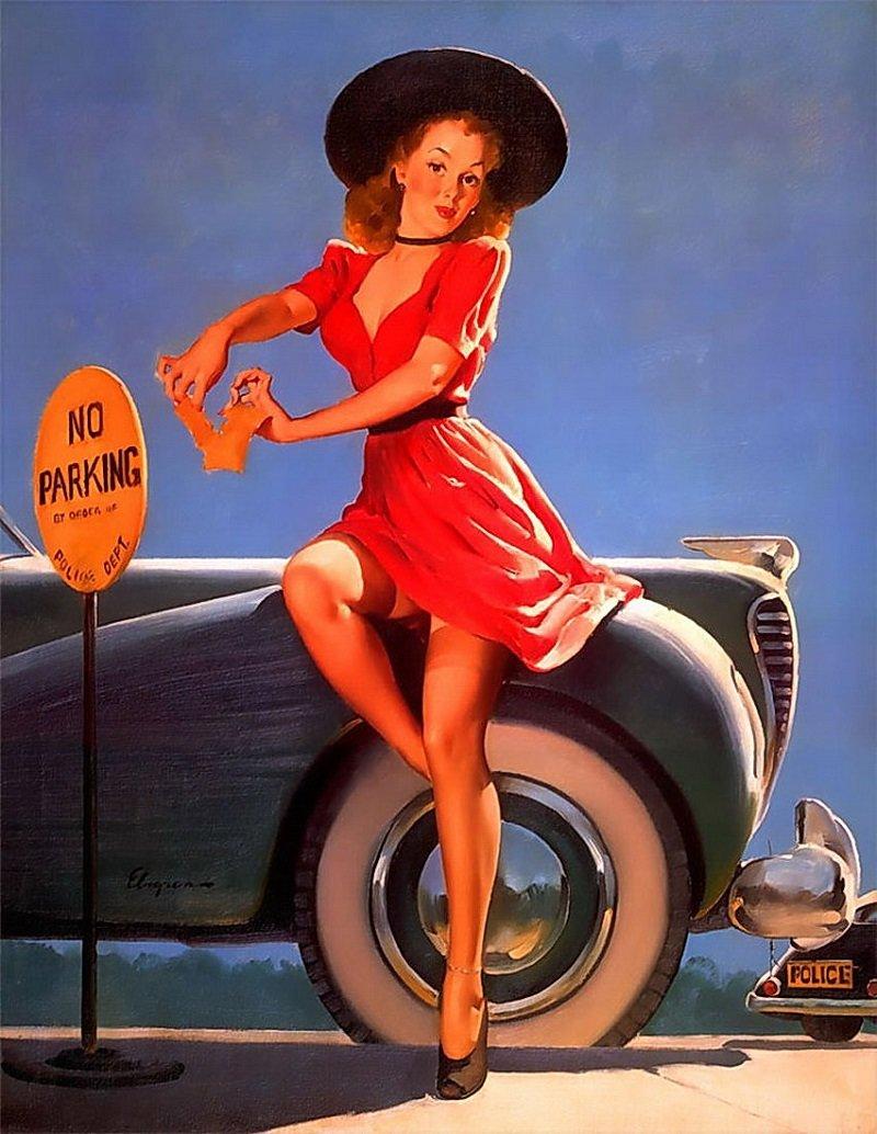 Картинками, открытки 40 годов американские